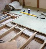 Особенности создания деревянного пола для бани