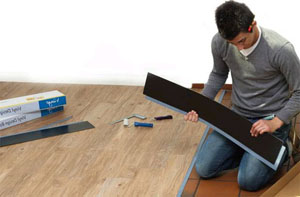 Особенности применения плитки из винила в интерьере