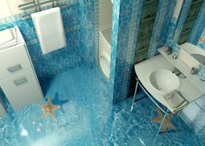 Технология создания наливных 3D полов
