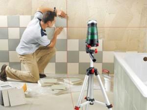 Как правильно положить кафель в ванной комнате на стены