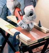 Как разрезать плитку с помощью болгарки