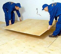 Как застелить полы фанерой на деревянном основании